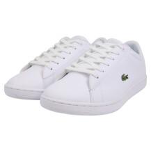 GH5175 522|Lacoste Shorts aus Fleece mit Kontrast-Akzenten Weiß